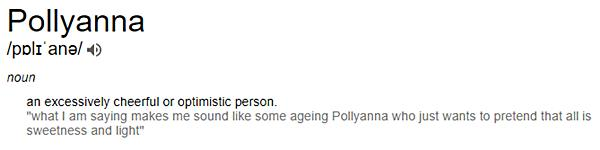 Pollyanna Definition - What Is Happiness?