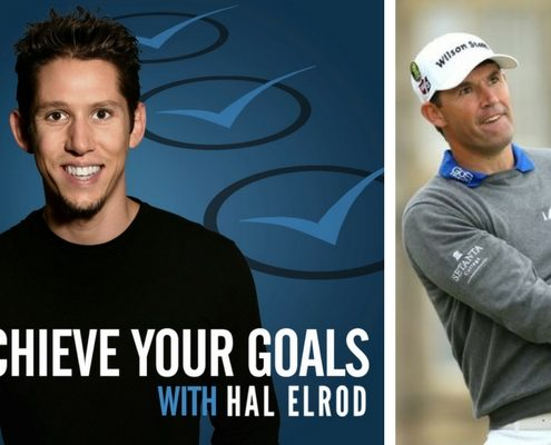 Author, podcaster and motivational speaker Hal Elrod and three-time Golf Major champion Padraig Harrington