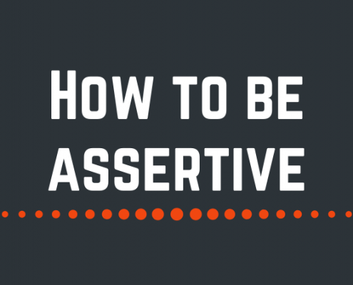 The key to effective assertiveness