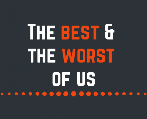 The human condition: The best and the worst of us