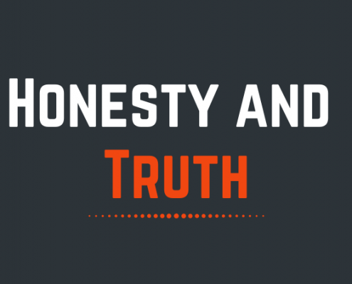 honesty and truth