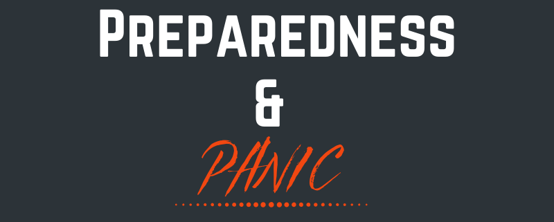 The fine line between preparedness and panic