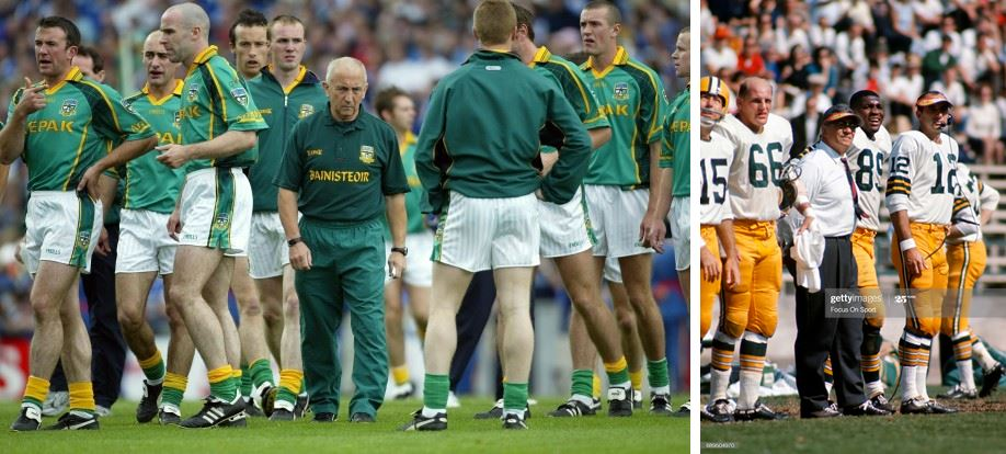Seán Boylan and Vince Lombardi: Small giants among men