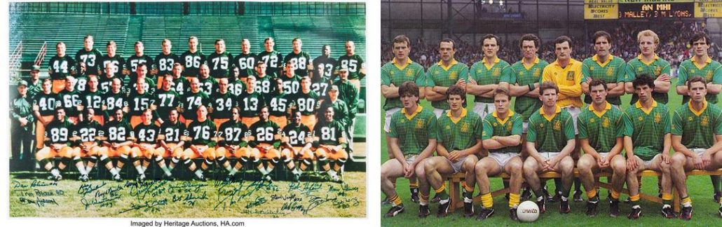 Sean Boylan and Vince Lombardi, Meath Gaelic football team and the Green Bay Packers
